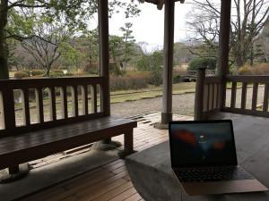 日本庭園ドヤリング