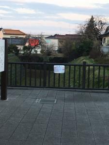 川越城外堀跡